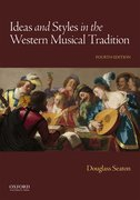 Cover for Ideas and Styles in the Western Musical Tradition