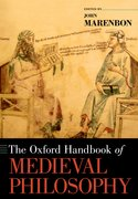Cover for The Oxford Handbook of Medieval Philosophy