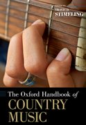 Cover for The Oxford Handbook of Country Music
