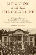 Cover for Litigating Across the Color Line