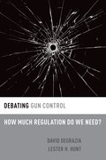 Cover for Debating Gun Control