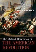 Cover for The Oxford Handbook of the American Revolution