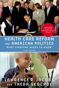 Cover for Health Care Reform and American Politics