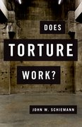 Cover for Does Torture Work?