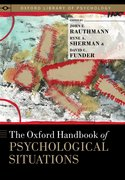 Cover for The Oxford Handbook of Psychological Situations