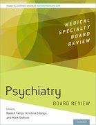 Cover for Psychiatry Board Review
