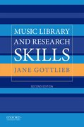 Cover for Music Library and Research Skills