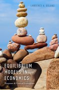 Cover for Equilibrium Models in Economics
