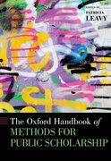 Cover for The Oxford Handbook of Methods for Public Scholarship