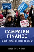 Cover for Campaign Finance