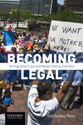 Cover for Becoming Legal