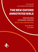 Cover for The New Oxford Annotated Bible with Apocrypha - 9780190276072