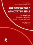 Cover for The New Oxford Annotated Bible with Apocrypha - 9780190276089