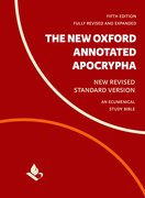 Cover for The New Oxford Annotated Apocrypha - 9780190276126