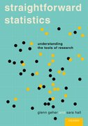 Cover for Straightforward Statistics