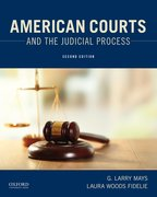 Cover for American Courts and the Judicial Process