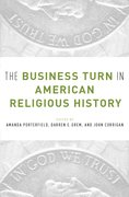 Cover for The Business Turn in American Religious History