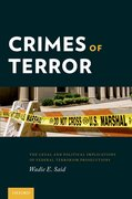 Cover for Crimes of Terror