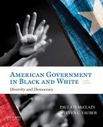 Cover for American Government in Black and White