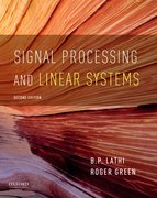 Cover for Signal Processing and Linear Systems - 9780190299040