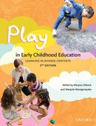 Cover for Play in Early Childhood Education
