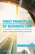 Cover for First Principles of Business Law