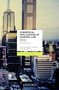 Cover for Commercial Applications of Company Law