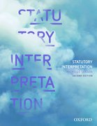 Cover for Statutory Interpretation