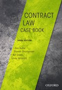 Cover for Contract Law Casebook