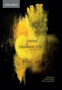 Cover for Crime & Criminology