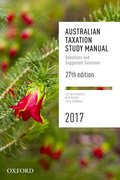 Cover for Australian Taxation Study Manual 2017