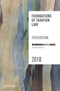 Cover for Foundations of Taxation Law 2018
