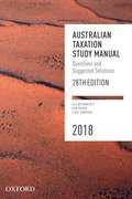 Cover for Australian Taxation Study Manual 2018