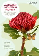 Cover for Australian Intellectual Property
