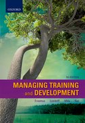 Cover for Managing Training and Development