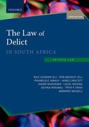 Cover for The Law of Delict in South Africa