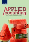 Cover for Applied Accounting
