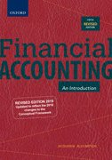 Cover for Financial Accounting
