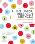 Cover for Quantitative Research Methods for Communication