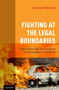 Cover for Fighting at the Legal Boundaries