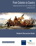 Cover for From Colonies to Country Student Discussion Guide