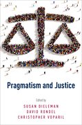 Cover for Pragmatism and Justice - 9780190459246