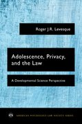 Cover for Adolescence, Privacy, and the Law
