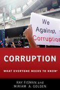 Cover for Corruption - 9780190463977