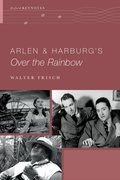Cover for Arlen and Harburg
