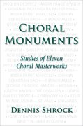 Cover for Choral Monuments