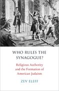 Cover for Who Rules the Synagogue?