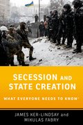 Cover for Secession and State Creation