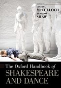 Cover for The Oxford Handbook of Shakespeare and Dance