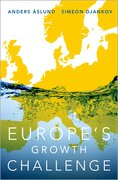 Cover for Europe's Growth Challenge - 9780190499204